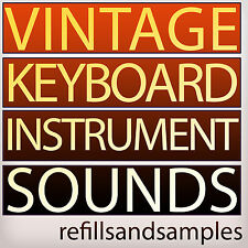 VINTAGE KEYBOARD Instrument Sounds Retro Reason NNXT Refill Soundfont Sample DVD