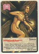 Spellfire 4th Edition Card M/NM 485/500 Titania