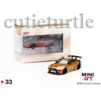 Mini GT Hong Kong Exclusive LB Works Nissan GT-R R35 1:64 Magic Bronze MGT00033