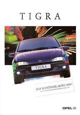 Prospekt / Brochure Opel Tigra 10/1995