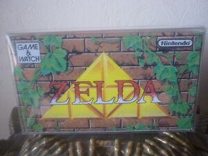 Console nintendo game & watch zelda multi screen afa originale