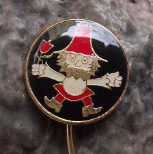 Antique Rumcajs Vecernicek Czech Classic Childrens Cartoon Character Pin Badge