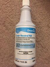 Diversey Crew Neutral Non-Acid Bowl & Bathroom Disinfectant 32 oz Squeeze Bottle