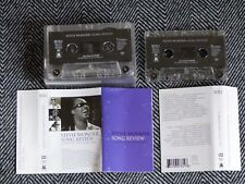 STEVIE WONDER - Song review a greatest hits collection - K7 audio / TAPE