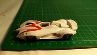 Vintage 2008 Hot Wheels T-180 M4530 Mach 6 Speed Racer Movie Sports Car Toy