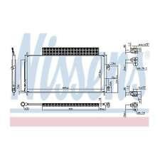 Fits Honda Jazz 1.2 Genuine OE Quality Nissens A/C Air Con Condenser