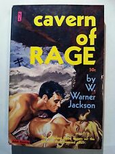 Cavern of Rage: W. Warner Jackson Newsstand 1961 Sleaze/GGA/Fiction/Adult E-47