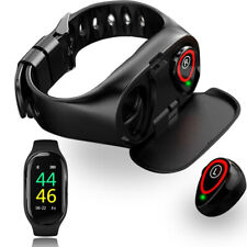 NEW! Color Screen Bluetooth 4.0 Smart Bracelet Watch Heart Rate Monitor Fitness