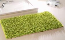 Gözze Shaggy Langflor-teppich In Metallic-optik Hochflor Ökotex grün 50x70cm