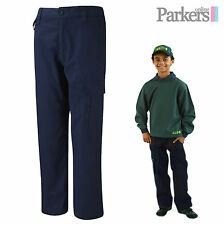 NEW BOYS NAVY BLUE ACTIVITY TROUSERS BEAVERS CUBS SCOUTS SIZE AGES 5-13 YEARS