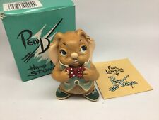 Pendelfin Rabbit Cousin Beau Hand Painted Made in England Original Box
