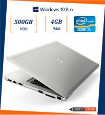 """pc portatile notebook usato ricondizionato 14"""" 4GB HDD 500GB Hp Folio 9470M i5"""