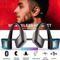 Bone Conduction Wireless Bluetooth5.0 Headset Outdoor Sport Earphones Headphones