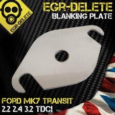 Ford Mk7 EGR valve blanking plate FORD MK7 TRANSIT 2.2 2.4 3.2 tdci BHP MPG