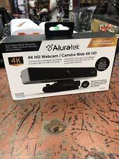 Aluratek 4K HD Webcam - AWC4KF  *NEW IN SEALED BOX**