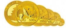 30g China Panda 500Yuan Gold 2016