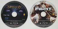 PS3 The Fight, Sorcery Playstation 3 2x Move Games **FAST FREE UK POSTAGE**