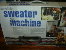 The Bond Incredible Sweater Machine In Box Two machines