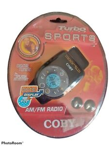 COBY  ALL WEATHER SPORTS RADIO WITH ARMBAND, CX96 AM/FM DIGITAL,2 AAA BATTERIES