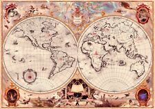 Harry Potter Wizarding Schools Map Of The World Poster Print A4
