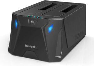"""Inateck USB 3.0 zu SATA Dualschacht Festplatten-Dockingstation für 2,5"""" und 3,5"""""""