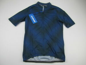 Mens 2XL Cuore Giant Elevate SS Cycling jersey blue full zip