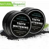 Whitening Powder Organic Activated Charcoal Bamboo Natural Teeth Whitener