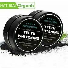 NEW! Activated Charcoal Powder Natural Organic Black Teeth Whitening Toothpaste