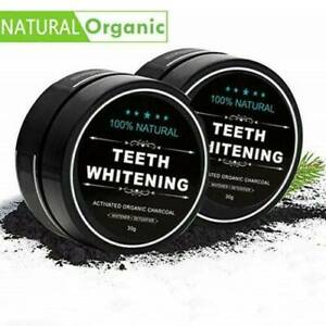 2021 Activated Charcoal Powder Natural Organic Black Teeth Whitening Toothpaste