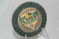 Integrity Service Lyon County Sheriff's Office Teamwork Challenge Coin