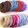 100pcs Fashion Elastic Rope Women Hair Ties Ponytail Holder Head Band Hairbands&