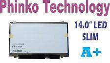 "NEW 14.0"" Slim LED Screen LP140WH2 TL A2 TL L1, LTN140AT20, CLAA140WB01"