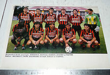 CLIPPING POSTER FOOTBALL 1987-1988 CO LE PUY