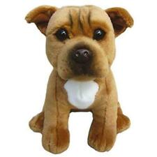 Staffordshire Bull Terrier Cuddly Soft Toy Stuffed Animal Collectible Plush Dog