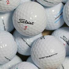 50 Golf Balls Titleist Dt Trusoft AAA/AAAA Quality lakeballs Tru soft Golf