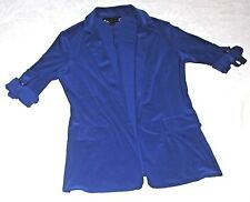 CARTISE WOMEN'S STRETCH LONG SLEEVE BLAZER~ SIZE 4~ NWOT~ RETAILS FOR 195.00