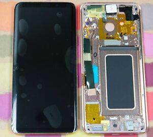 GENUINE GOLD SAMSUNG SM-G965F GALAXY S9 PLUS SCREEN AMOLED LCD FRAME DISPLAY