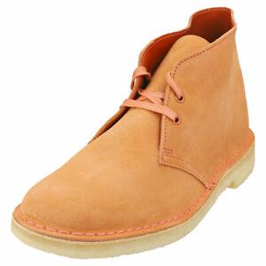Clarks Originals Desert Boot Mens Rust Desert Boots - 9 US