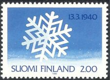 Finland 1990 Russo-Finnish Winter War/Military/Snowflake/Animation 1v (b735n)