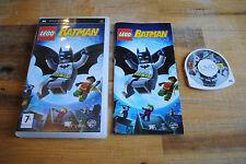 Jeu LEGO BATMAN pour PSP (Sony) COMPLET