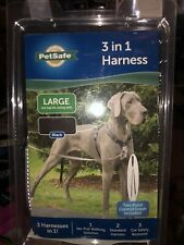 BRAND NEW!!  PetSafe 3-in-1 Harness for Dogs | Color Black, Size Large