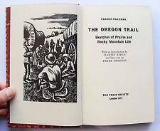 THE OREGON TRAIL Francis Parkman Folio Society 1973 Wild West Frontier no box