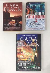 3 x Cara Black Aimee Leduc Investigation - Paris Crime Fiction Job Lot