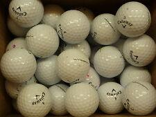 40 Callaway HEX Chrome et Balles De Golf Grade B bargain!