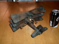 "WW#1, GERMAN TRIPLANE FIGHTER, HANDMADE,TIN METAL STATUE, Scale: 9"" LENGTH, VINT"