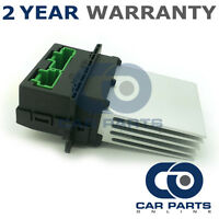 FOR RENAULT GRAND SCENIC MK2 1.6 PETROL 2004-09 HEATER BLOWER MOTOR FAN RESISTOR