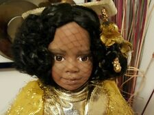 "World Gallery THE SUNSHINE FAIRY Rare Porcelain Doll Jennifer Esteban 19"" COA"