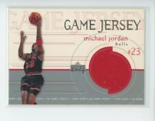MICHAEL JORDAN GAME-USED JERSEY PATCH 1999-00 UD UPPER DECK GAME JERSEY (B)