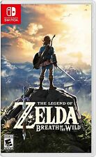 NEW SEALED The Legend of Zelda: Breath of the Wild GAME FOR NINTENDO SWITCH