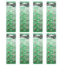 80PCS AG3 LR41 192 384 392 LR736 1.5V Alkaline Button Cell Watch Battery SUNCOM
